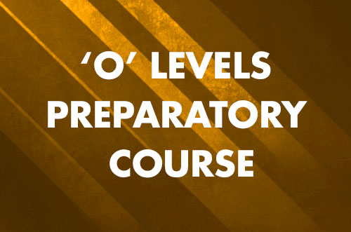 Preparatory Course for Singapore–Cambridge General Certification (Ordinary Level) Examination