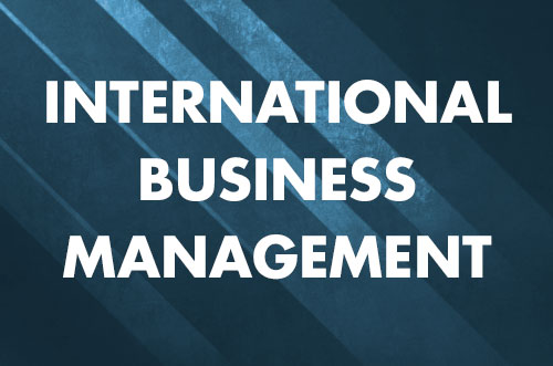 Diploma in International Business Management (Chinese)
